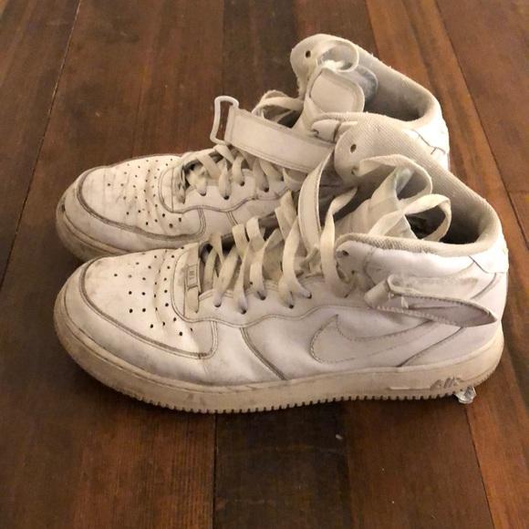 Well Worn Nike Air Force 1